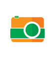 camera photography logo vector image vector image