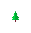 Fir-tree Icon vector image vector image