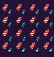 firework rockets pattern vector image