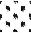 mexican tapir icon in black style isolated on vector image vector image