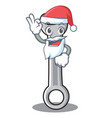 santa spanner character cartoon style vector image vector image