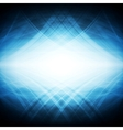 Shiny blue hi-tech background vector image vector image
