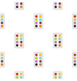 watercolor pattern seamless vector image vector image
