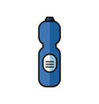 disinfectant plastic bottle product with drop flat vector image vector image