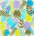 leaves pattern Tropical Pattern with Monstera vector image