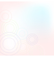 Pastel Background With Circles vector image vector image