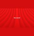 smooth red curtain 3d elegant abstract background vector image