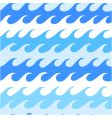 waves seamless blue vector image vector image
