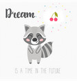 a dream is a time in the future motivation vector image vector image