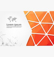 abstract modern flyer and brochure design vector image