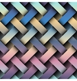 Diagonal plaid pattern vector image vector image