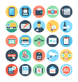 Shopping Icons 4 vector image vector image