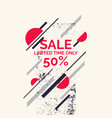 super summer sale abstract background with vector image vector image
