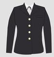 Military uniform vector image