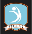 athletic sport vector image