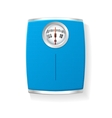 Bathroom Scale isolated on a white vector image vector image