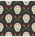 day dead pattern vector image