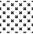 Four leaf clover leaf pattern simple style