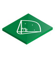 icon playground baseball in isometric vector image vector image