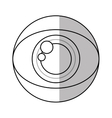 Isolated eye design vector image vector image
