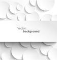 Paper banner on circle background vector | Price: 1 Credit (USD $1)