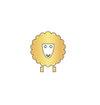 Sheep computer symbol vector image