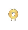 Sheep computer symbol vector image vector image
