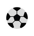 soccer ball ilustratio vector image vector image