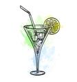 wine tankard vector image vector image