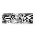 wooden texture black white wood grain background vector image vector image
