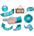 new design elements vector image