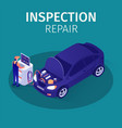 professional inspection repair in autoservice
