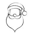 santa claus avatar character vector image vector image
