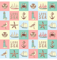 sea background vector image vector image