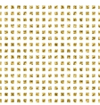 seamless gold glitter pattern vector image
