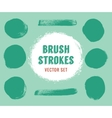 set brush strokes colour is editable vector image