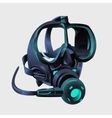 Realistic modern respirator without a man vector image