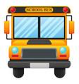 a school bus vector image vector image