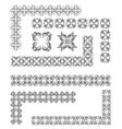 al 0806 dividers 02 vector image vector image
