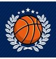 basketball sport emblem icon vector image vector image