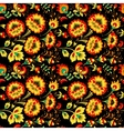 Floral seamless pattern in slavic country style vector image vector image