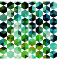 Retro pattern of geometric shapes Colorful mosaic vector image vector image
