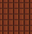 seamless pattern with chocolate texture-4 vector image vector image