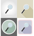 stationery flat icons 14 vector image vector image
