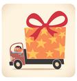 Bringing Gift Card vector image