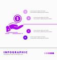 help cash out debt finance loan infographics vector image