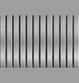metal texture with vertical brushed planks vector image vector image