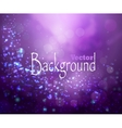 Purple lights background vector image vector image