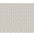 Seamless Round Stripes Dotted Line vector image