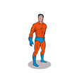 Super Hero Standing Retro